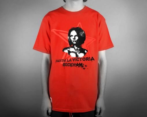 t-shirt hasta la victoria beckham