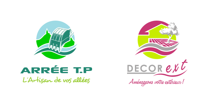 Logo de l'entreprise et de la nouvelle filiale