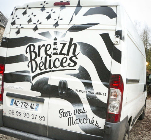 peinture camion bretagne