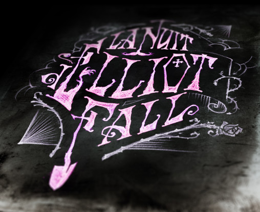 Typographie Eliot Fall